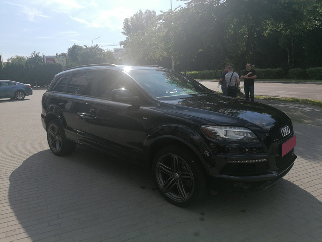 Audi Q7 Prestige S-line 2012